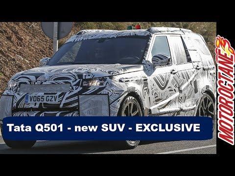 Tata  Q501 - New SUV -  EXCLUSIVE