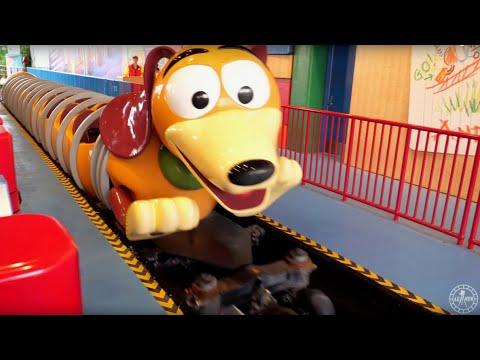 Slinky Dog Dash 4K RIDE POV Roller Coaster At Toy Story Land   Walt Disney World Orlando Florida