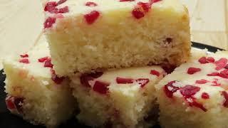 सूजी से बना ऐसा टेस्टी केक  जो आपको उंगलिया चाटने पर मजबूर कर देगा