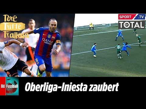 Oberliga-Iniesta zaubert wie Ex-Barca-Star | Tore, Tritte, Trallala