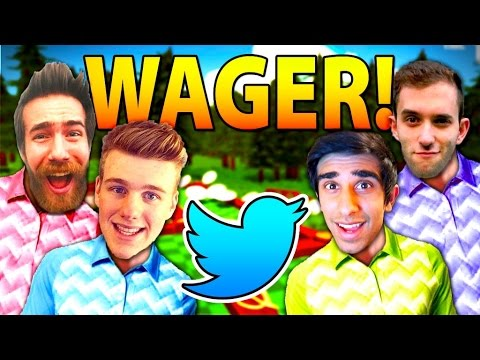 TWITTER WAGER! - GOLF WITH YOUR FRIENDS