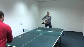 Tennis game in Amdocs