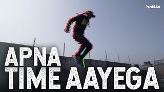 Apna Time Aayega Gully Boy | Best of Parkour & Free Running | Ranveer Singh, Divine | Hattke