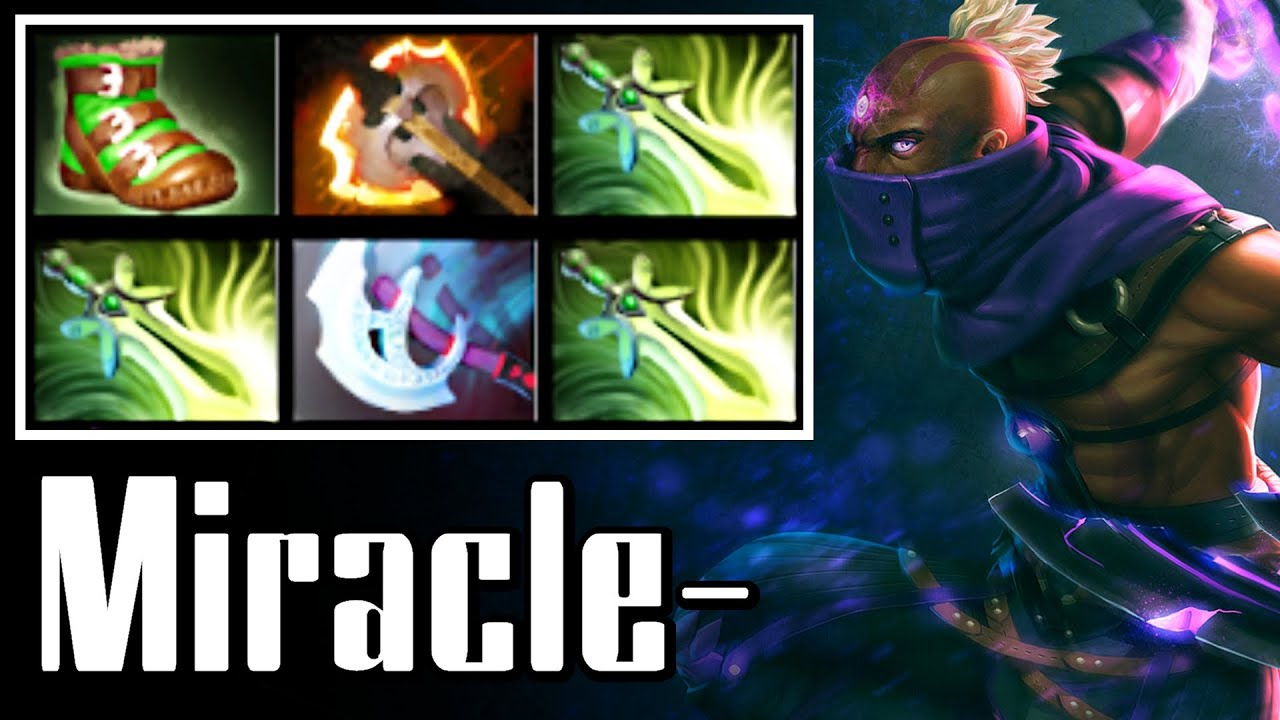 miracle anti mage with 3 butterfly dota 2 full game ranked