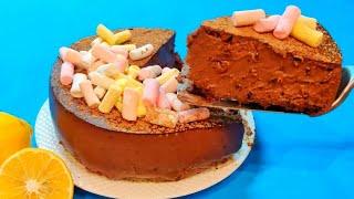 НОВИНКА НЕ ПОТЕРЯЙТЕ РЕЦЕПТ ШОКОЛАДНАЯ БОМБА Без ВЫПЕЧКИ И ДУХОВКИ Домашний Шоколадный Торт