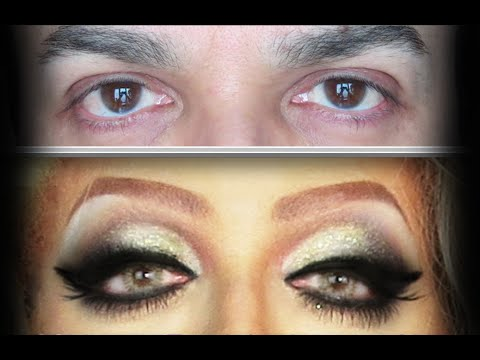 FISHY CUT CREASE MAKEUP FOR HOODED EYES TUTORIAL - YouTube - photo #50