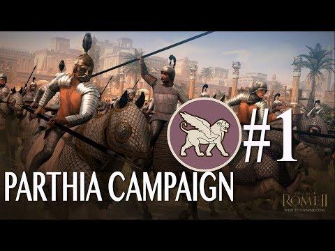 Rome 2: Imperator Augustus - Parthia Campaign #1