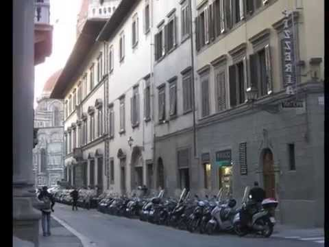 Florence Italy Empty of Tourists -- Food, Art and Architecture