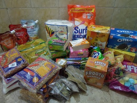 Pakistani Grocery Haul From Imtiaz Super Market | Budget Grocery | Glitters Of Life