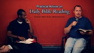 Practical Advice on Daİly Bible Reading - Tim Conway