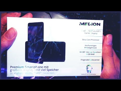 Medion x5520 Top Handy!!? | Review/Hands-on/unboxing