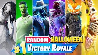 The *RANDOM* HALLOWEEN BOSS Challenge in Fortnite!