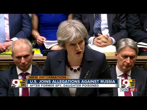 U.S. joins allegations against Russia