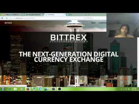 How To Get Bitcoin Address Bittrex Account /Tutorial