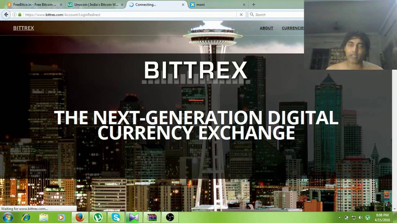 How to get bitcoin address bittrex account tutorial youtube ccuart Choice Image