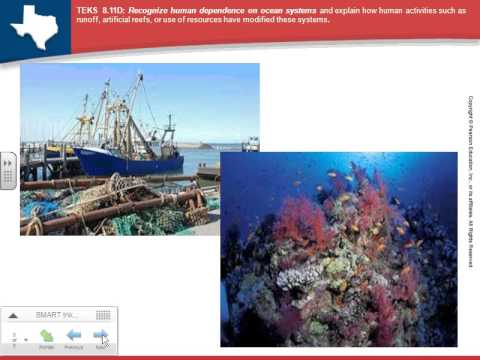 Human dependence & impact on ocean system