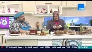 مطبخ 10/10 - الشيف أيمن عفيفي - والشيف حنان رمضان - طريقة عمل صينية الكوارع