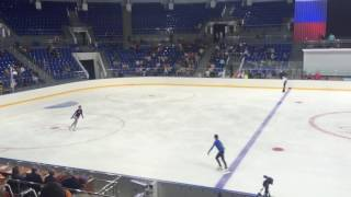 11 09 2016 контрольные прокаты сборной России по фигурному катанию 5