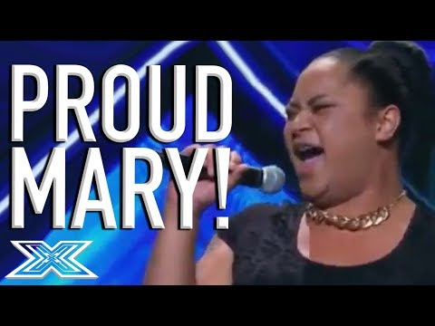 Young Drag Queen Ashley Tonga Has A PARTY On Stage Singing 'Proud Mary' | X Factor Global