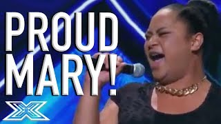 "Young Drag Queen Ashley Tonga Has A PARTY On Stage Singing ""Proud Mary"" 