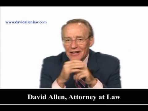 David Allen - Employment Arbitration Clause
