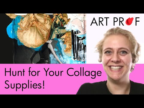 Art Supplies: Magazines for Collage / ART PROF