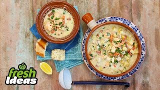 Easy Seafood Chowder Recipe