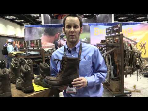 Browning Footwear | Featherweight Boot | 2017 ATA Show