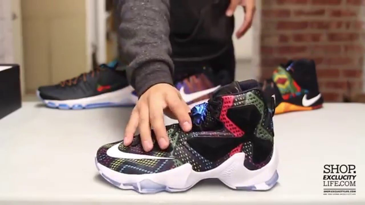 Lebron XIII BHM Unboxing Video at