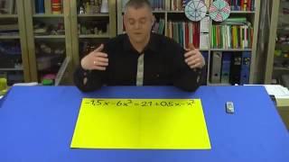 Umformung in die Normalform bei quadratischen Gleichungen | Mathematik | Algebra