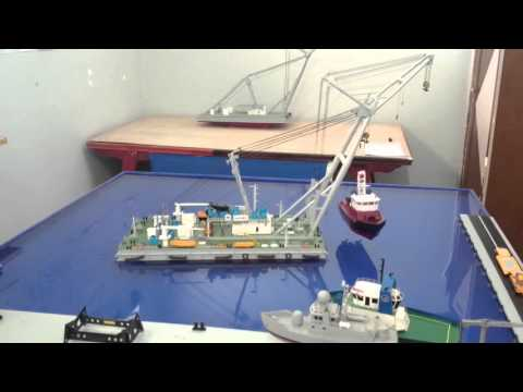 "Rc floating crane Model ""Bluetooth Controller"""