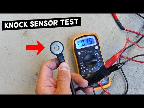 HOW TO TEST KNOCK SENSOR