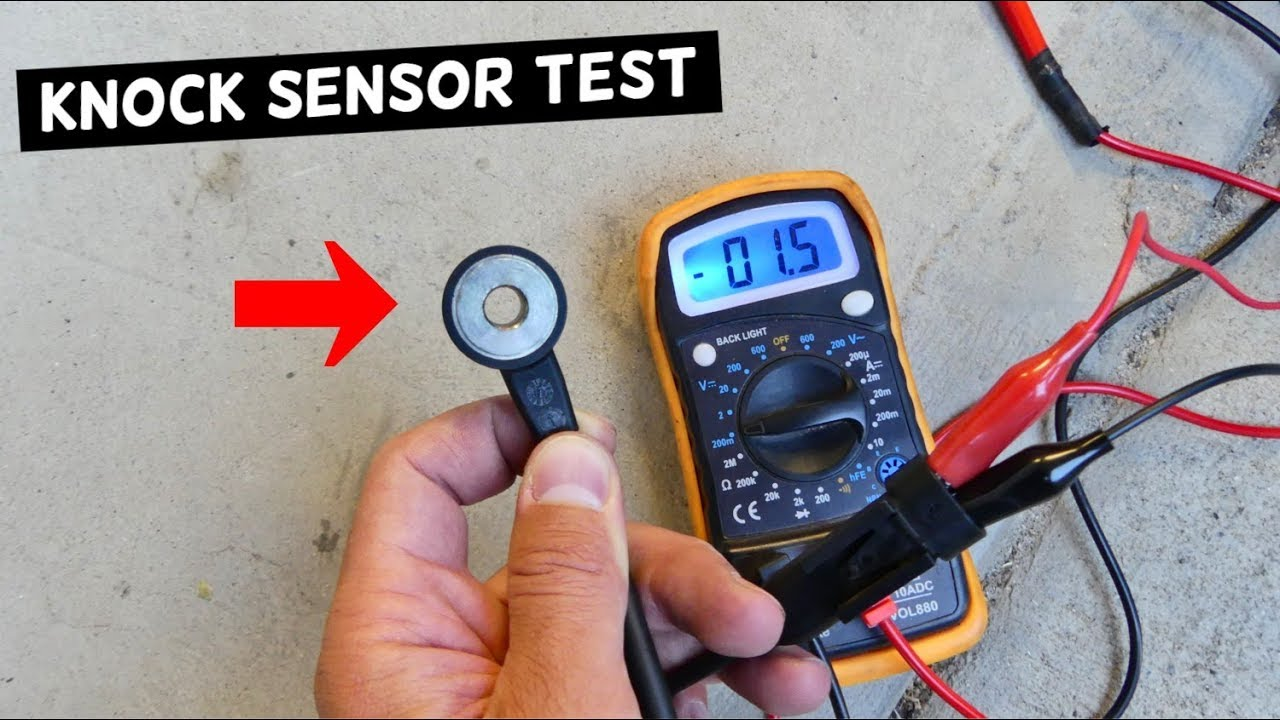 How To Test Knock Sensor Youtube