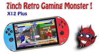 X12 Plus / 7 inch Retro Monster Handheld ! screenshot 3