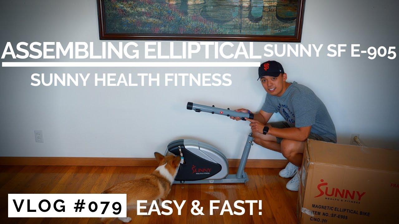 How To Assemble – Sunny SF-E905 (Sunny Health & Fitness)