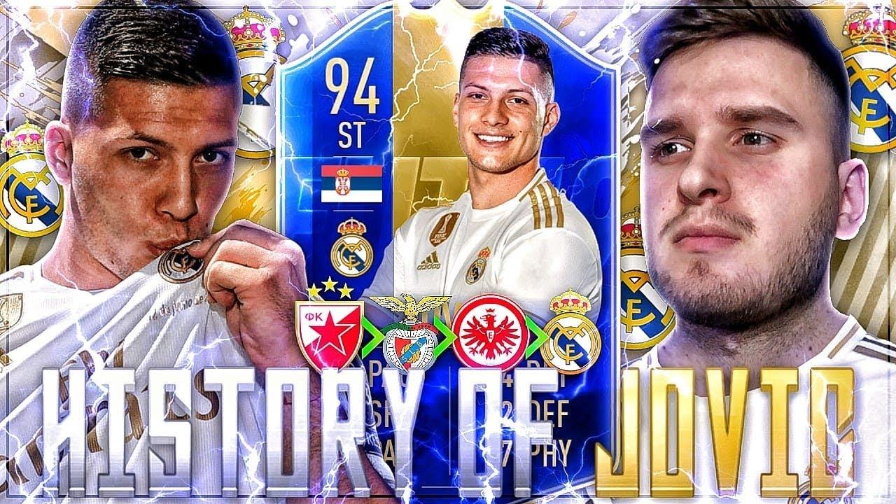 FIFA 19: HISTORY OF TOTS LUKA JOVIC????????REAL MADRID FUTURE