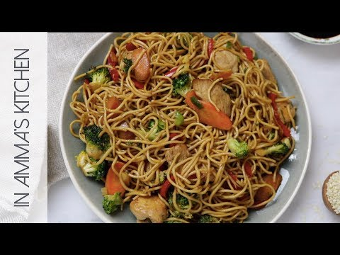 How To Make Chicken Noodle Stir Fry