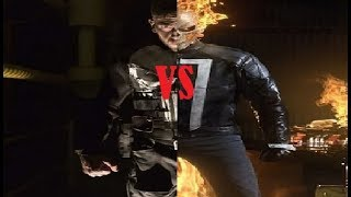 The Punisher Vs  Ghost Rider / EPIC DEATH BATTLE!!!
