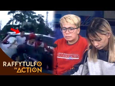 PART 2   VIRAL VIDEO SA NANGYARING ALITAN SA PAGITAN NG RIDER AT NG DRIVER NG PUTING KOTSE!