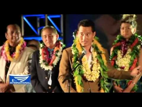 Fans gather in Waikiki for the Hawaii-Five-O premiere - Des Acenas reports from Hawaii