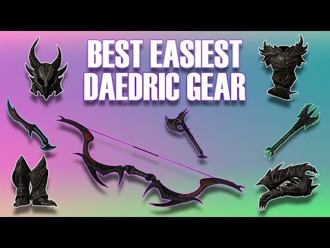 Skyrim How To Get Daedric Armor BEST/FASTEST (Remade BETTER)