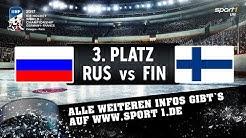 Russland - Finnland 5:3 | Spiel um Platz 3 | Highlights | EISHOCKEY WM 2017