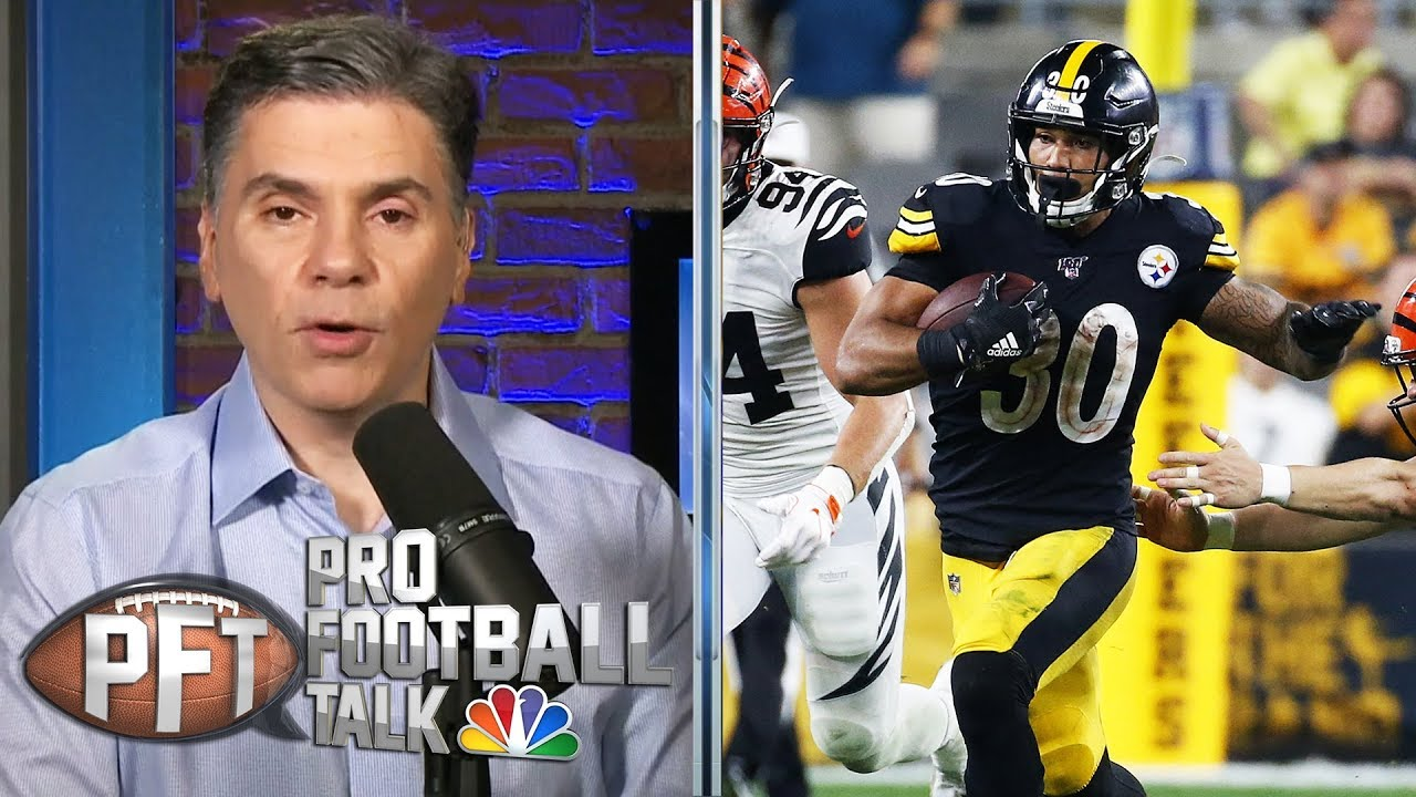 Steelers' offense gets going in win over Bengals | Pro Football Talk | NBC Sports