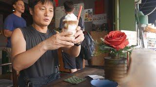 베트남에서 제일 유명한 커피프렌차이즈 콩카페 커피를 마…