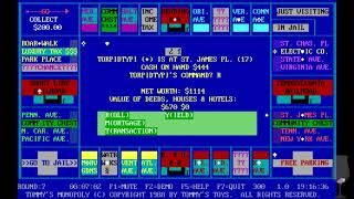 MS-DOS Crypt - Tommy's Monopoly