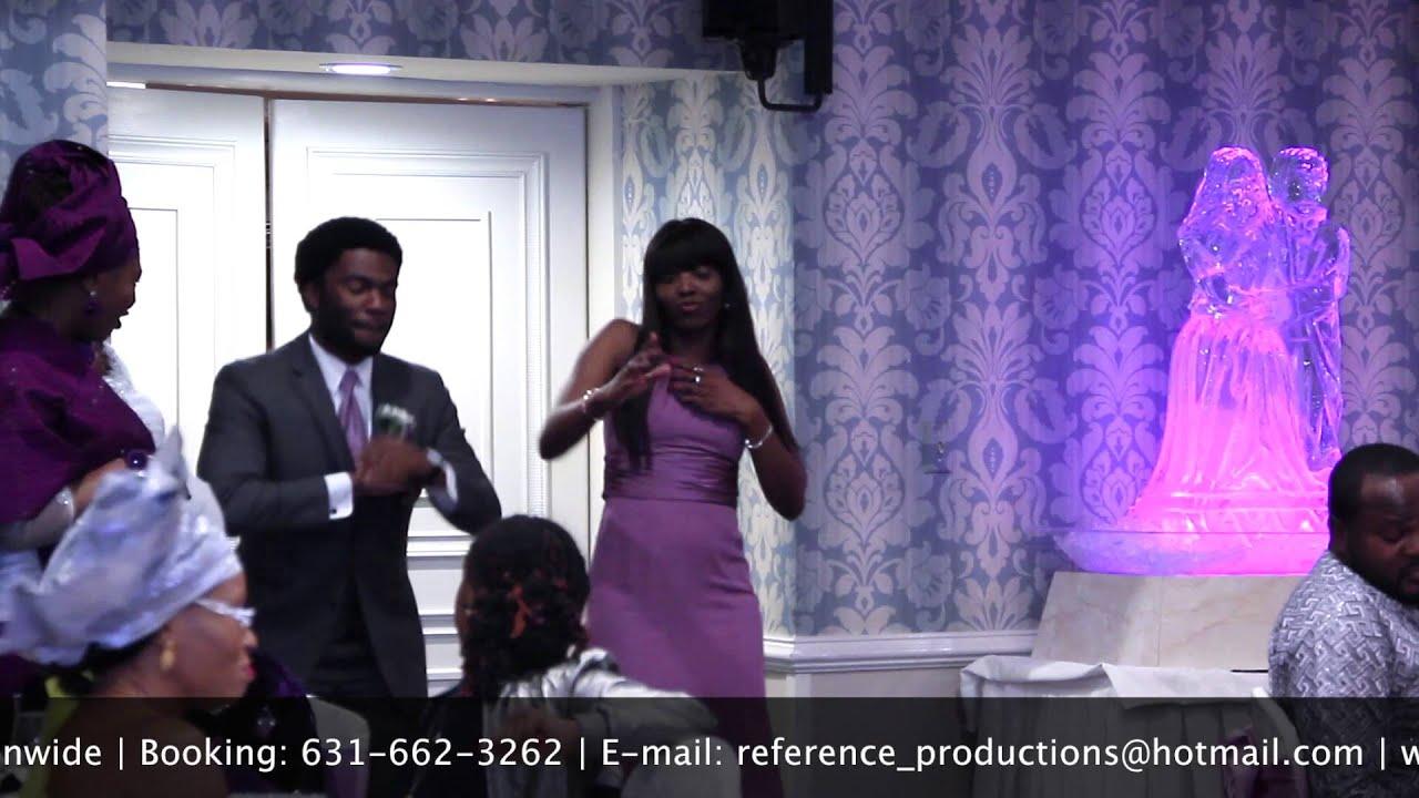 BEST BRIDAL PARTY ENTRANCE DANCE   NIGERIAN WEDDING - YouTube