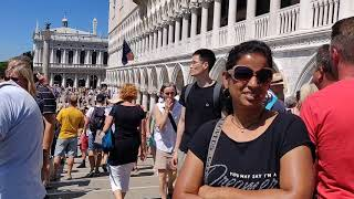 Pranavraja Venice trip on 06.07.2018 Italy