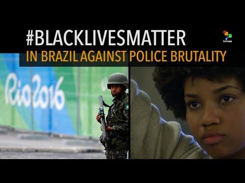BlackLivesMatter in Brazil Against Police Brutality