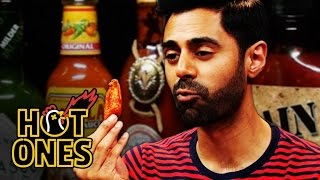 Download Hasan Minhaj Has an Out-of-Body Experience Eating Spicy Wings | Hot Ones Mp3 and Videos