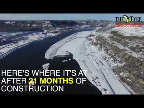 Site C Dam Progress